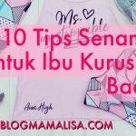 10 Tips Senaman Untuk Ibu Kuruskan Badan