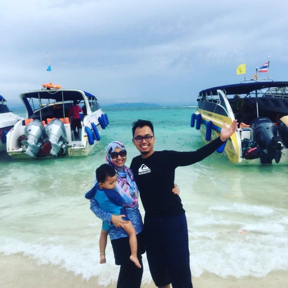 Sambut Anniversary di Krabi